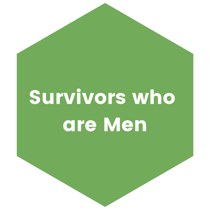 survivors who are men