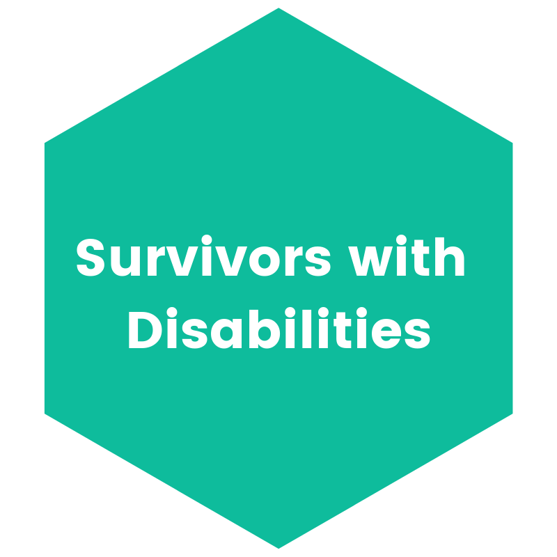 Survivors with Disabilities