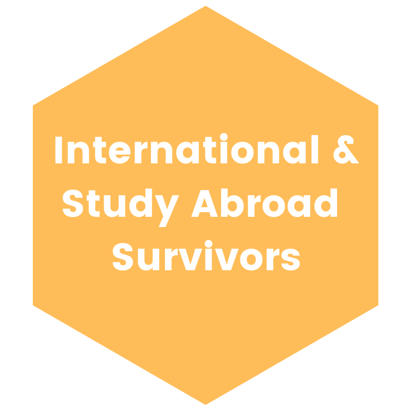 International & Study Abroad Survivors