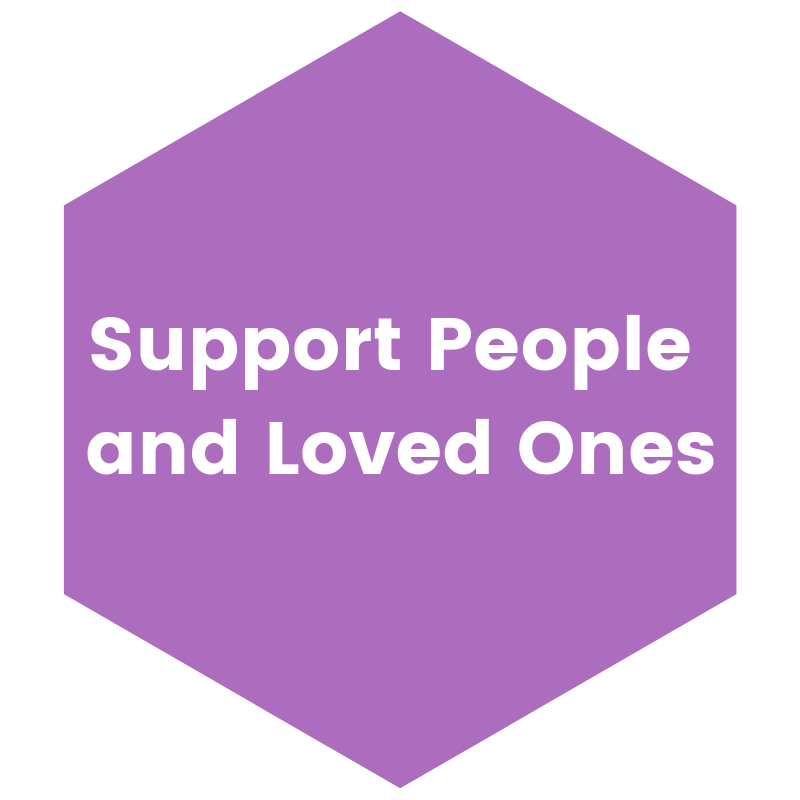 Support People and Loved Ones