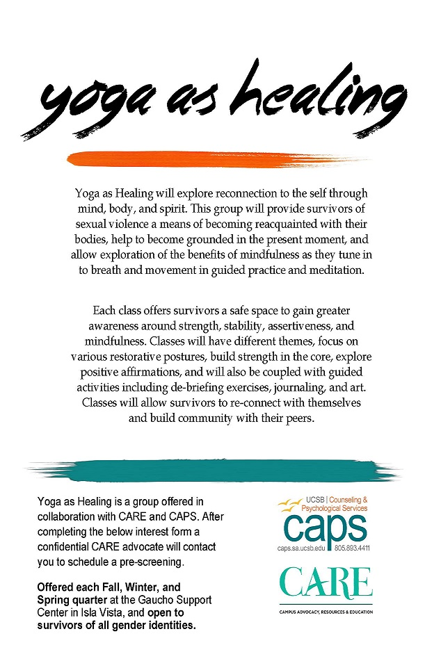 Yoga as healing flyer_withCARE Not date specific